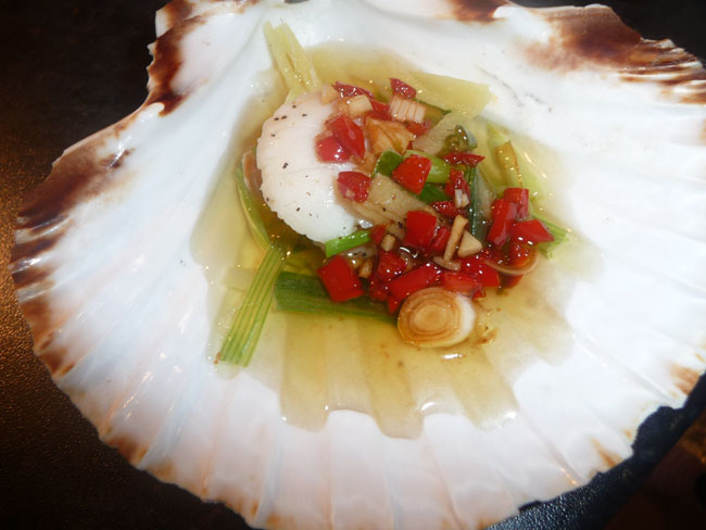 Chinese Scallops with Burning Oil – FAD Hoppers